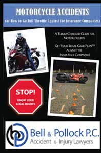 Motorcycle Accidents in Colorado Guide booklet cover