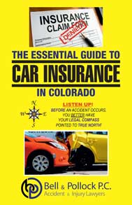 The Essential Guide to Car Insurance in Colorado booklet cover