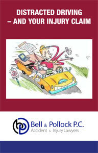 Distracted Driving - And Your Injury Claim ebook cover